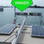 Hybrid Solar/Wind Installation
