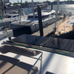 e Marine solar kit installed on a new Fountain Pajot 42