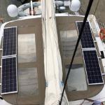 Lagoon 52 Solar Panel System
